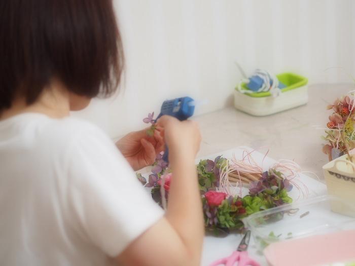 プリザーブドフラワー教室 大阪